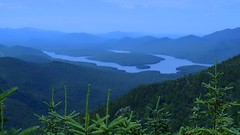 (Thomas Takes Pictures) Tags: adirondack mountain lake placid new york whiteface landscape blue green ridgeline color nature