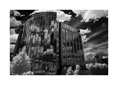 Reflections (sorrellbruce) Tags: glass steel architecture modernarchitecture clouds pasdeduex