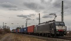 176_2018_03_10_Menden_ES_64_F4_-_286_6189_286_DISPO_mit_Containerzug_Köln (ruhrpott.sprinter) Tags: ruhrpott sprinter deutschland germany allmangne nrw ruhrgebiet gelsenkirchen lokomotive locomotives eisenbahn railroad rail zug train reisezug passenger güter cargo freight fret staugustin mendenrheinl koblenz köln db dispo mrcedispolok rtb sbbc sncb eloc rb27 ice ic es64u2 es64f4 rurtalbahn pcc mosolf txltxlogistik wlb 0037 1216 4482 6101 6143 6145 6151 6152 6185 6186 7186 6187 6189 6193 0425 bahnbaugruppe logo outdoor natur graffiti