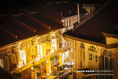 Outram, Singapore (Naomi Rahim (thanks for 4 million visits)) Tags: chinatown outram singapore travel travelphotography nikon nikond7200 city night wanderlust 2017 street streetphotography architecture rooftop houses homes 2470mm windows
