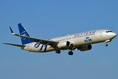 """Plover - Plevier"" KLM Royal Dutch Airlines PH-BXO Boeing 737-9K2 Winglets cn/29599-866 Skyteam c/s @ Aalsmeerbaan EHAM / AMS 05-06-2016 (Nabil Molinari Photography) Tags: ploverplevier klm royal dutch airlines phbxo boeing 7379k2 winglets cn29599866 skyteam cs kaagbaan eham ams 05062016"