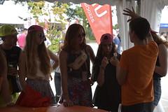 Vieilles Charrues 2018 (Ubuntu Party) Tags: vieillescharrues vc2018 ubuntufr carhaix carhaixplouguer 2018 stand tatoo tatoos tux villagecamping equipe festival festivalier ccbysa photobyjuliecotinaud