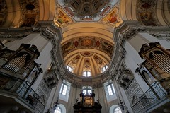 The Cathedral (picsessionphotoarts) Tags: sonyphotography sony sonyalpha sonyalpha6500 ilce6500 salzburg österreich austria salzburgview salzburgerdom salzburgcathedral kathedrale cathedral kirche church architektur malerei fresken e1018mmf40oss