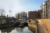 St Pancras Lock and the Gasholder Park (eibonvale) Tags: london canal regentscanal gasholderpark stpancras stpancraslock