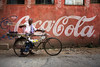 Street seller in Patan (puuuuuuuuce) Tags: nepal patan cocacola