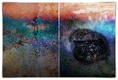 third concentric truth (kazimierz.pietruszewski) Tags: abstract abstraction form composition digipaint digitalart concept graphic colorful border diptych 21