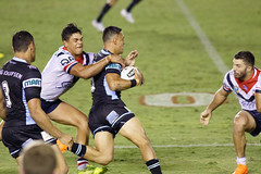 Sharks v Roosters Round 5 2018_151.jpg (alzak) Tags: 2018 chooks cronulla eastern easts league nrl national roosters rugby sharks suburbs action sport sports sydney australia