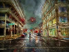 Got to love the weather. . . (boriches) Tags: rain ozarks painterly