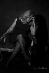 Marlene Dietrich-638-3 (Adriana.Britto) Tags: ensaio retrato portrait foto photo fotografia photography loira blonde blond model mature blackwhite blackandwhite pb pbr pretoebranco people art