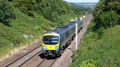 Trans-Pennine Express in Edale (Steel Rails) Tags: edale derbyshire peak district hope valley line railway train diesel