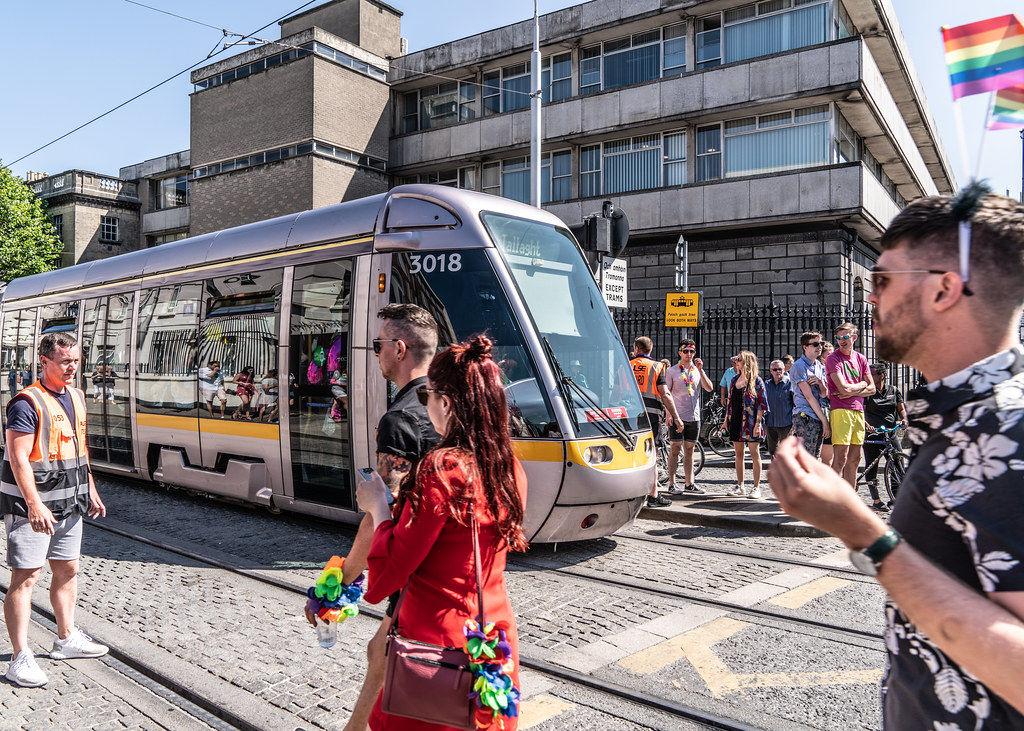 ABOUT SIXTY THOUSAND TOOK PART IN THE DUBLIN LGBTI+ PARADE TODAY[ SATURDAY 30 JUNE 2018] X-100064
