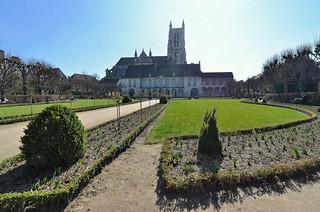 Meaux (Seine et Marne) - Cathédrale Saint-Étienne - Musée Bossuet - Jardin Bossuet (explore 02-07-18)