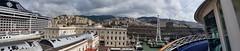 Genova (Luigi Rosa) Tags: italia italy liguria genova zena porto panorama port nave ship cruise crociera