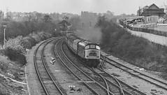 The Way We Were: Longbridge 1976 (Wulfruna Kid) Tags: 45077 class45 peak britishrailways longbridge crosscitylinesouth 1976