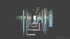 Corridor (#Weybridge Photographer) Tags: canon 40d adobe lightroom eos dslr slr chernobyl nuclear corridor low key shadow pripyat urbex urban decay decaying