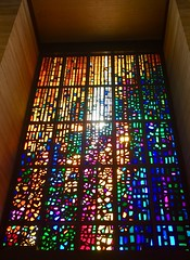 St. Mary's Cathedral, San Francisco (JoeGarity) Tags: church colors light stainedglass catholic cathedral stmary's sanfrancisco