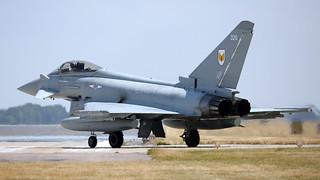 ZK320/320 TYPHOON 1sqn RAF