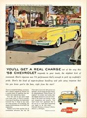 1958 Chevrolet Impala Convertible (aldenjewell) Tags: 1958 chevrolet impala convertible ad