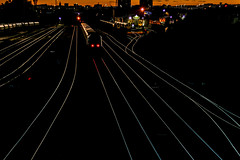 Twilight of the HST (Andrew Shenton) Tags: twilight leeds night hunslet hst 5j10 neville hill doncaster