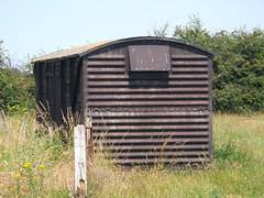Grounded Van Body (girdergibbon) Tags: mangapps railway museum grounded van