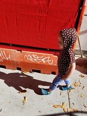 Urban toddler (quinn.anya) Tags: paul toddler city orange berkeley