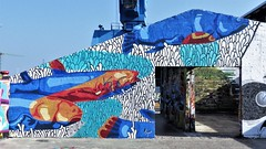 Lupo / Dok Noord - 27 jun 2018 (Ferdinand 'Ferre' Feys) Tags: gent ghent gand belgium belgique belgië streetart artdelarue graffitiart graffiti graff urbanart urbanarte arteurbano ferdinandfeys