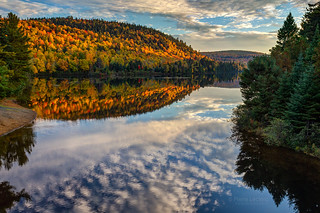 Autumn in La Mauricie National Park, Quebec, Canada