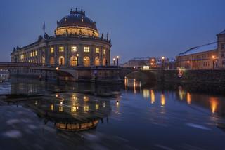 Bode Museum Berlin Winter