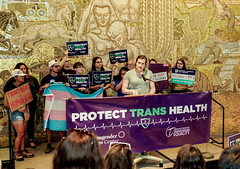 2018.07.17 #ProtectTransHealth Rally, Washington, DC USA 04746