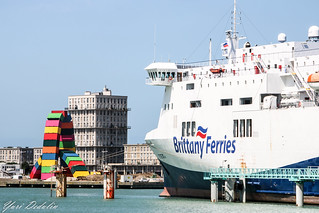 Port of Le Havre, France (Brittany Ferries)