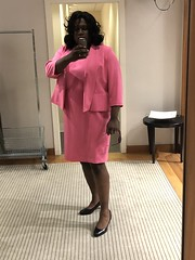 I've been dreaming of wearing this pink outfit forever! I didn't want to take it off. Sigh... (shayla981) Tags: