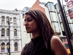 20180723T12-33-06Z-P7230192 (fitzrovialitter) Tags: girl candid closeup portrait streetportrait peterfoster fitzrovialitter city streets rubbish litter dumping flytipping trash garbage urban street environment london fitzrovia streetphotography documentary authenticstreet reportage photojournalism editorial captureone olympusem1markii mzuiko 1240mmpro microfourthirds mft m43 μ43 μft geotagged oitrack