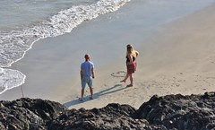 Kynance Cove - May 2018 - I Love You (Gareth1953 All Right Now) Tags: happy couple love loveheart beautiful mature woman cornwall kynancecove sand thelizard fishing wife barefoot beach busty young long blonde hair chubby footprintsinthesand