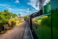 Froghall Station (@bill_11) Tags: churnetvalleyrailway railwaycompanies cheddleton england unitedkingdom gb froghall