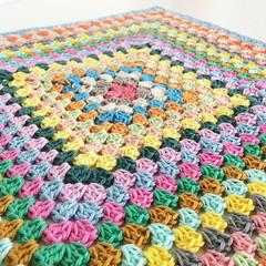 Granny square (Annemarie's Crochet Blog) Tags: orgu ganchillo handmade haekeln haken crocheting croche crochet grannysquares grannysquare