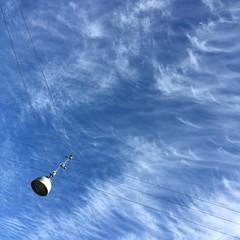 (hannemiriam) Tags: pattern abstractsquared abstract everydayobjects everydaylife everyday streetlamp lamp summer bluesky nature city urban clouds sky danmark denmark aarhusdenmark aarhus square iphone