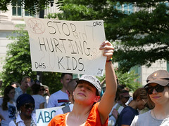 Immigration Demonstration DC 6/30/2018 (Susan Melkisethian) Tags: immigration dc washington protest trump ice detention deportation asylum justice racism jail missing migration refugee border sessions antitrump resist civility america dream dreamers zerotolerance families separation familyseparation policy detentionfacility immigrants familiesbelongtogethermarch familiesbelongtogether hhs doj whitehouse discrimination humanrights abuse