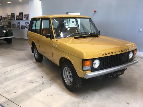 Pristine Range Rover Classic