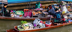 Amphawa Floating Market Thailand-39a (Yasu Torigoe) Tags: thailand travel sony a99ii asia amphawa floating market culture asian cooks streetvendor food women woman lady work