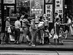 Bus stop (Will.Mak) Tags: people street streetphotographynyc streetphotography streetsofnewyork queens newyorkcity newyork nyc nyclife nycstreetphotography ny bigapple flushing busstop blackandwhite bw olympus penf m75mm f18 olympuspenf olympusm75mmf18
