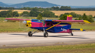 Pilatus PC-6 Turbo Porter F-GFFD Centre Ecole Régional de Parachutisme Sportif de Nancy-Lorraine