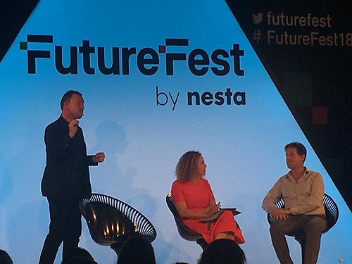 Nesta CEO and former deputy minister sir Nick Clegg #futurefest18
