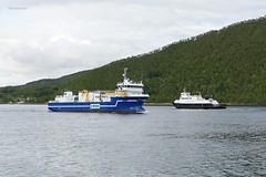 """""""Helgøy"""" og """"Artic Lady"""" (OlafHorsevik) Tags: helgøy botnhamn senjafergene senjaferga malangsferga ferge ferga ferry ferja ferje torghattennord thn"""