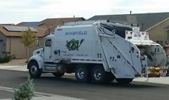 Wingfield Disposal & Recycling (ashman 88) Tags: peterbilt rearendloader rel trashtruck refusetruck refuse leach
