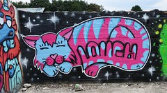 Louch / Dok Noord - 11 jul 2018 (Ferdinand 'Ferre' Feys) Tags: gent ghent gand belgium belgique belgië streetart artdelarue graffitiart graffiti graff urbanart urbanarte arteurbano ferdinandfeys
