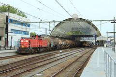 DB Cargo 6416 @ Zwolle (Sicco Dierdorp) Tags: db dbc cargo serie6400 unitcargo ketelwagen keteltrein onnen kijfhoek zwolle station