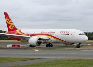 Hainan Airlines                                   Boeing 787 Dreamliner                                     B-2728
