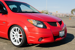DSC_0700 (jaytotheveezy) Tags: pontiac vibe base lava red 1zz work crkai kiwami ultimate bcracing coilovers toyo tires genvibe