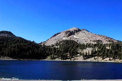 Lassen Volcanic National Park (moniquef123) Tags: nationalpark volcanic lake water mountain sky blue nature landscape scenic beautiful california