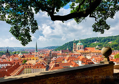 _MG_5000 - Prague morning (AlexDROP) Tags: 2018 czechia czechrepublic europe prague praha art travel architecture color city landscape daytime urban skyline church canon6d ef16354lis best iconic famous mustsee picturesque postcard